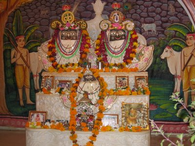 Krishna and Balarama at ISKCON Govardhana