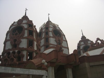 Radha Partha-Sarathi Mandir in Delhi