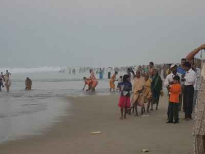 The Beach on Kartik Purnima