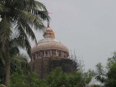 A Glimpse of the Jagannatha Temple in Puri
