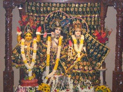 Sri Sri Radha Govinda at ISKCON Kolkata
