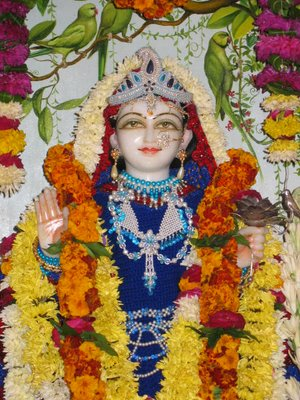 Srimati Vrindadevi at Vrinda Kunda